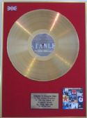 PAUL WELLER - 24 Carat Gold Disc LP  - STANLEY ROAD